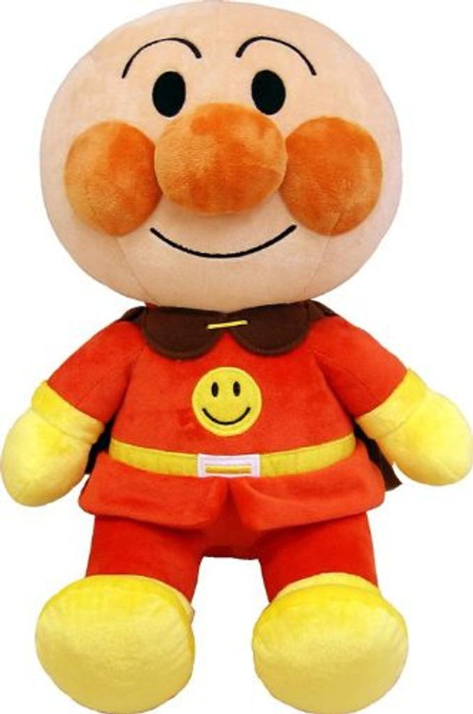 Sega Toys Plush Doll Fuwarin Smile Anpanman Size M