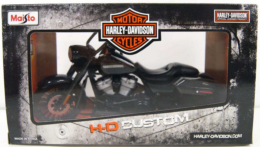 Aoshima Skynet 05634 Harley Davidson 2017 Road King Special 1/12 Finished Model
