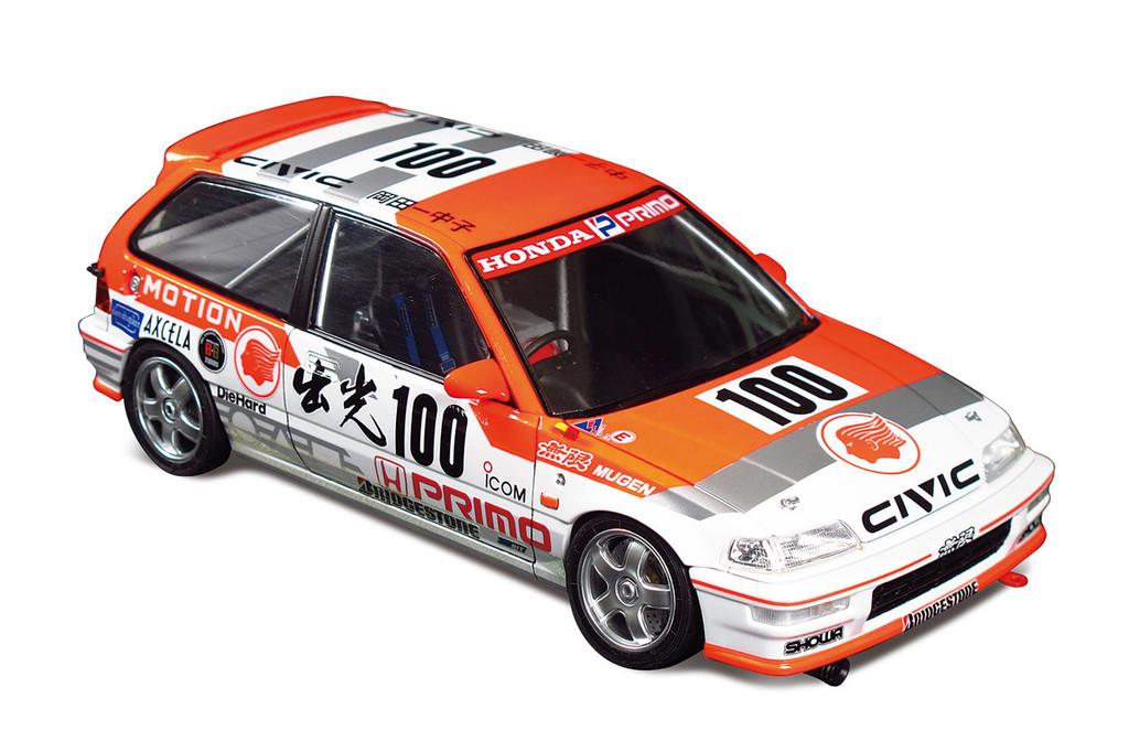 Aoshima 05146 Honda Civic EF9 Gr.A '91 Idemitsu Ver. 1/24 scale kit