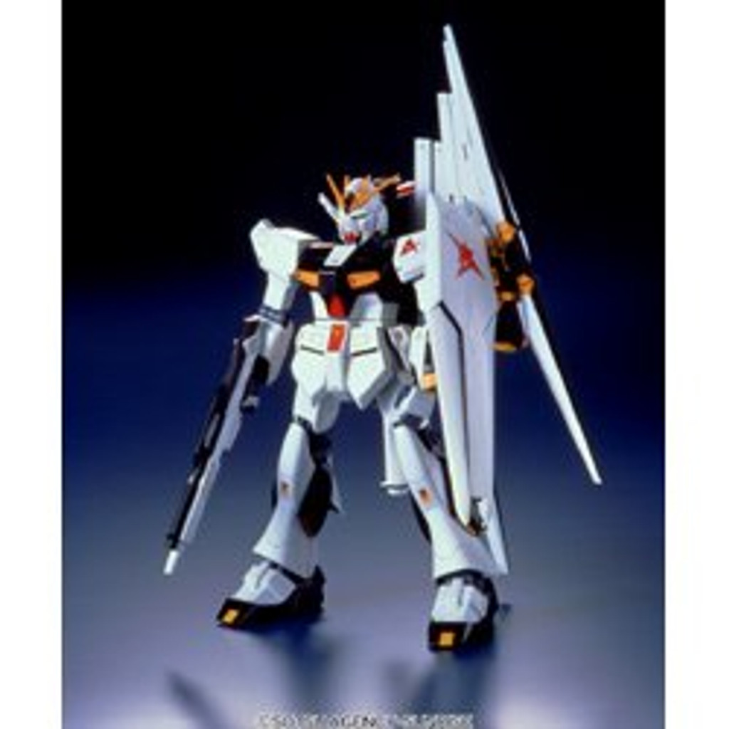 Bandai 247281 Nu Gundam Fin-Fannel Equipment Type 1/100 scale kit