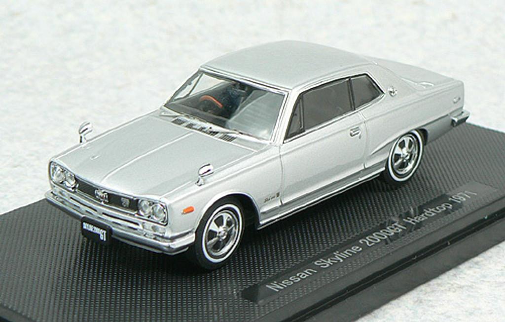 Ebbro 43960 NISSAN SKYLINE 2000GT Hardtop Silver 1/43 Scale