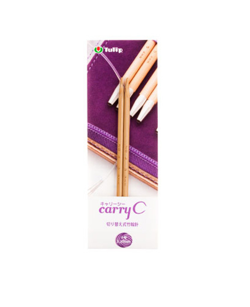 Tulip CCJA-59 Carry C Bamboo Knitting Needle 6.00mm (No. 13)
