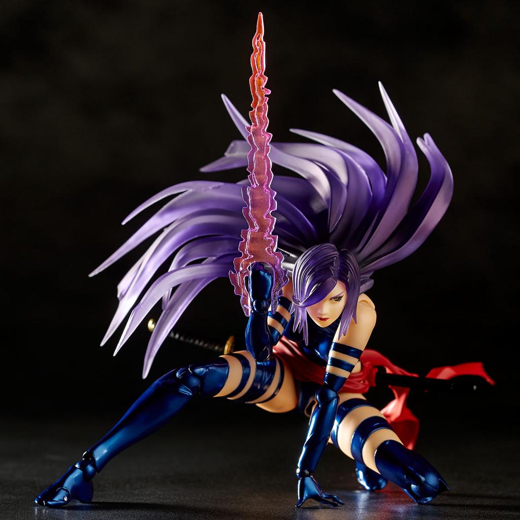 Kaiyodo Amazing Yamaguchi 010 Psylock Revoltech Figure (X-Men)