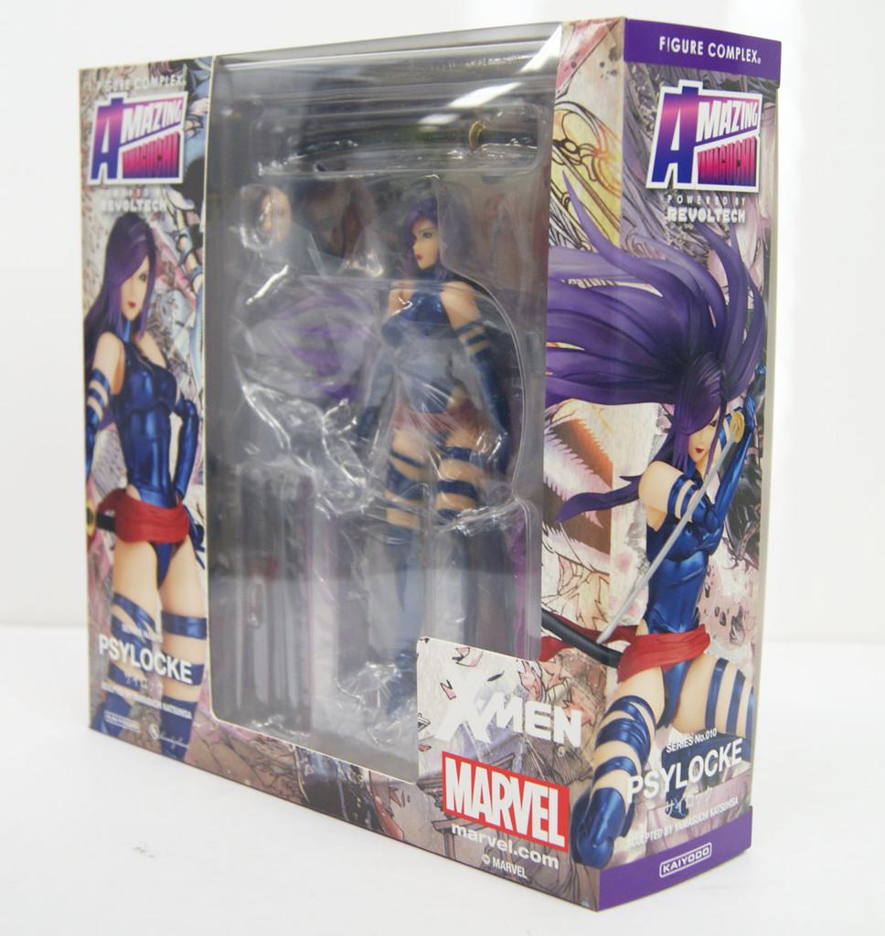 Kaiyodo Amazing Yamaguchi 010 Psylocke Revoltech Figure (X-Men)