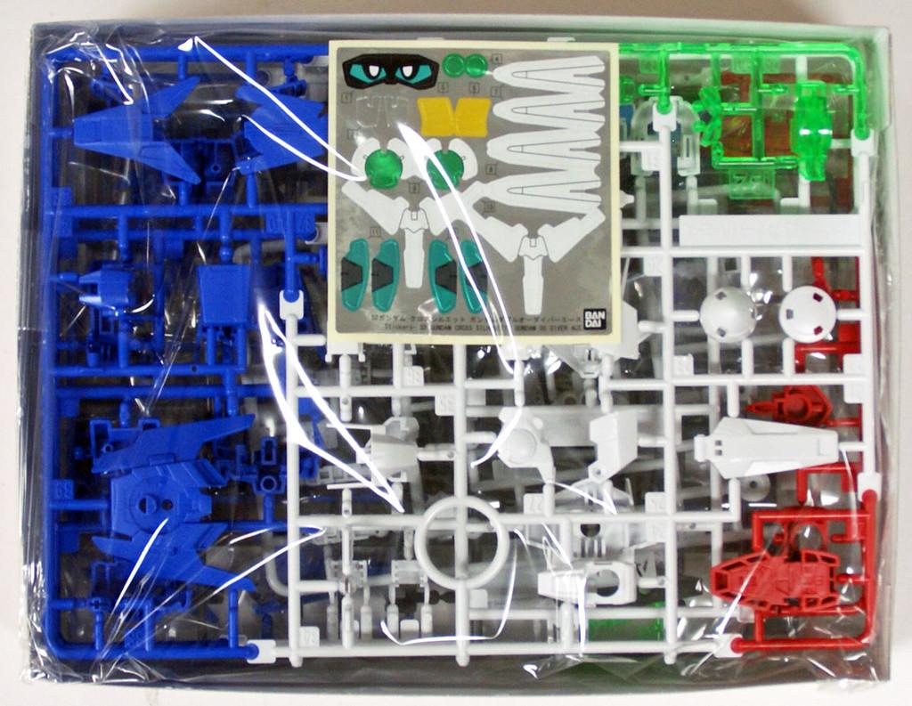 Bandai SD Gundam Cross Silhouette Gundam OO Diver Ace Non-Scale Model Kit