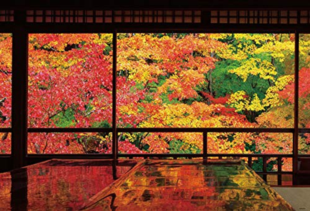 Beverly Jigsaw Puzzle 51-246 Autumn Leaves Rurikoin Kyoto Japan (1000 Pieces)