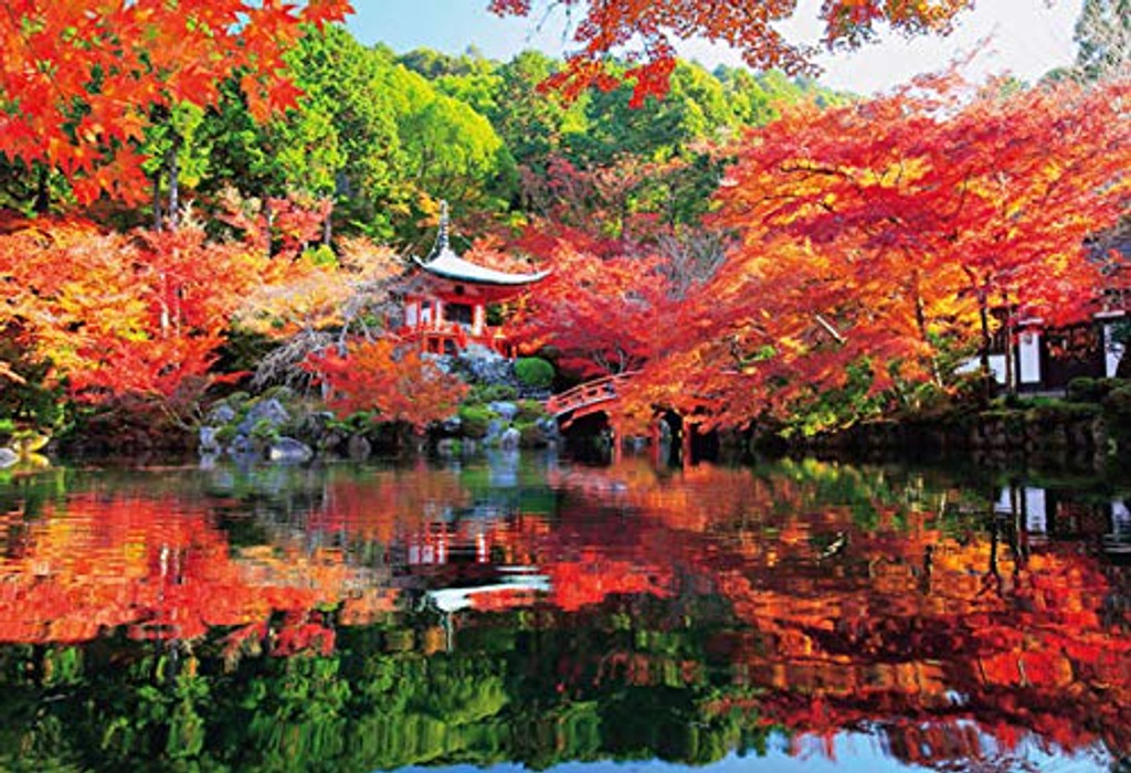 Beverly Jigsaw Puzzle 33-158 Autumn Leaves Daigoji Temple Kyoto Japan (300 Pieces)