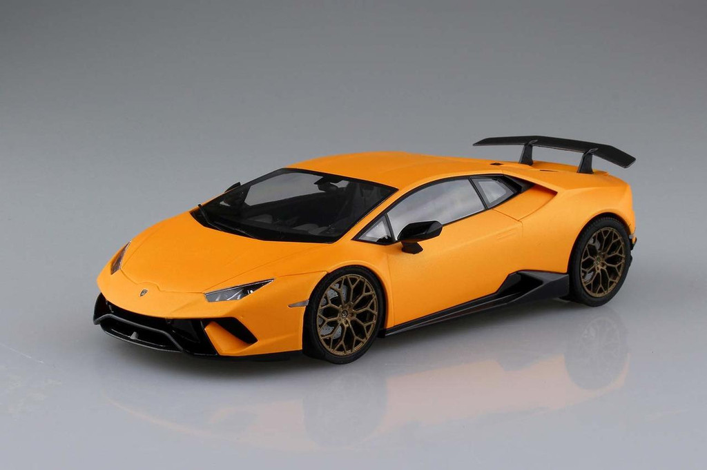 Aoshima 56004 Lamborghini Huracan Performante 1/24 Scale kit