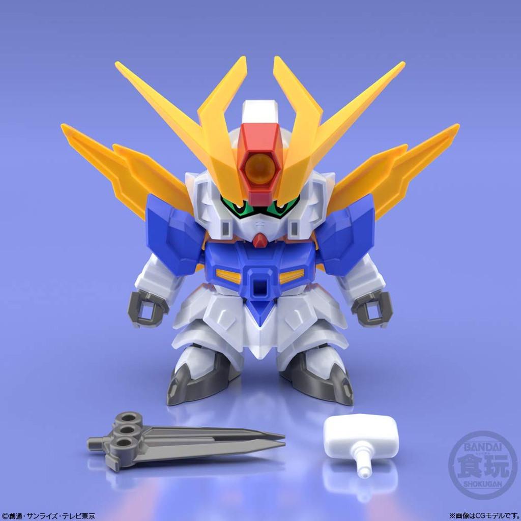 Bandai Candy 290636 Mini-Pla Gundam Build Divers Great Shock Gundam 1 BOX 10 Pcs. Set