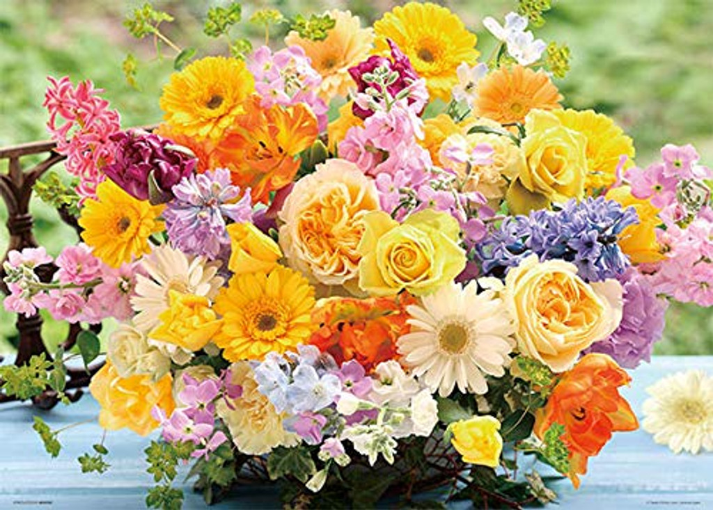 Beverly Jigsaw Puzzle 66-106 Happy Yellow Bouquet (600 Pieces)