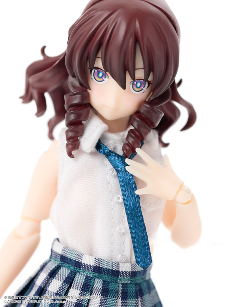 Azone ALC042-HDB 1/12 Assault Lily 042 Custom Lily Type-H Dark Color ver. Dark Brown