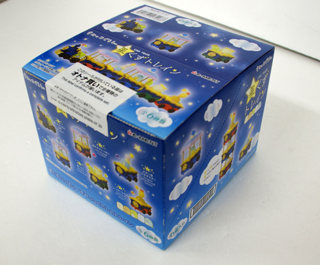 Re-ment 172088 Sumikko Gurashi Stardust Train 1 BOX 6 Figures Complete Set