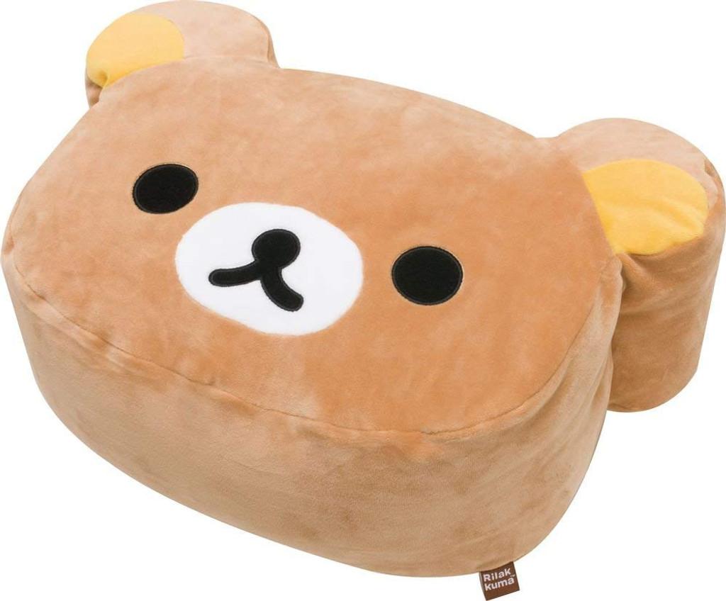 San-X Plush Doll Rilakkuma Super Mochi Mochi Cushion Rilakkuma TJN