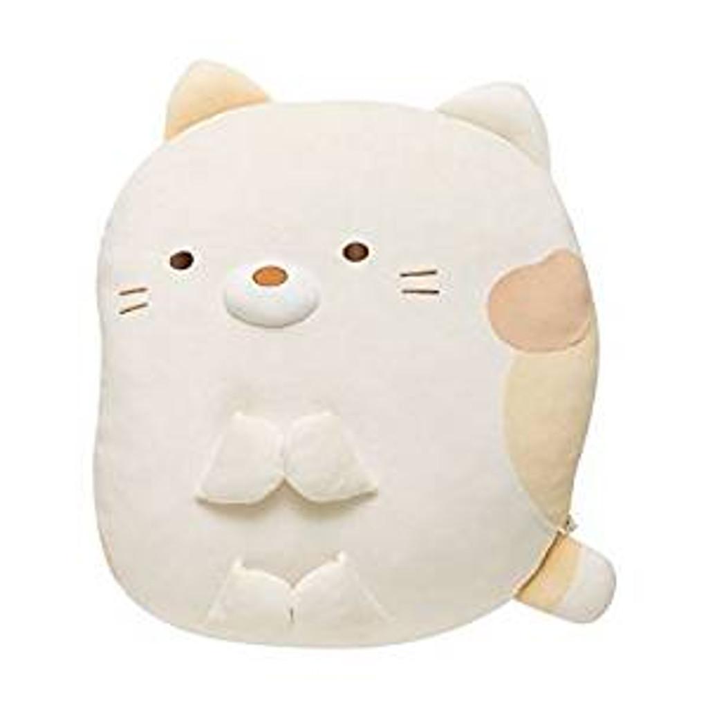 San-X Plush Doll Sumikko Gurashi Super Squishy Die Cut Coushion Cat TJN