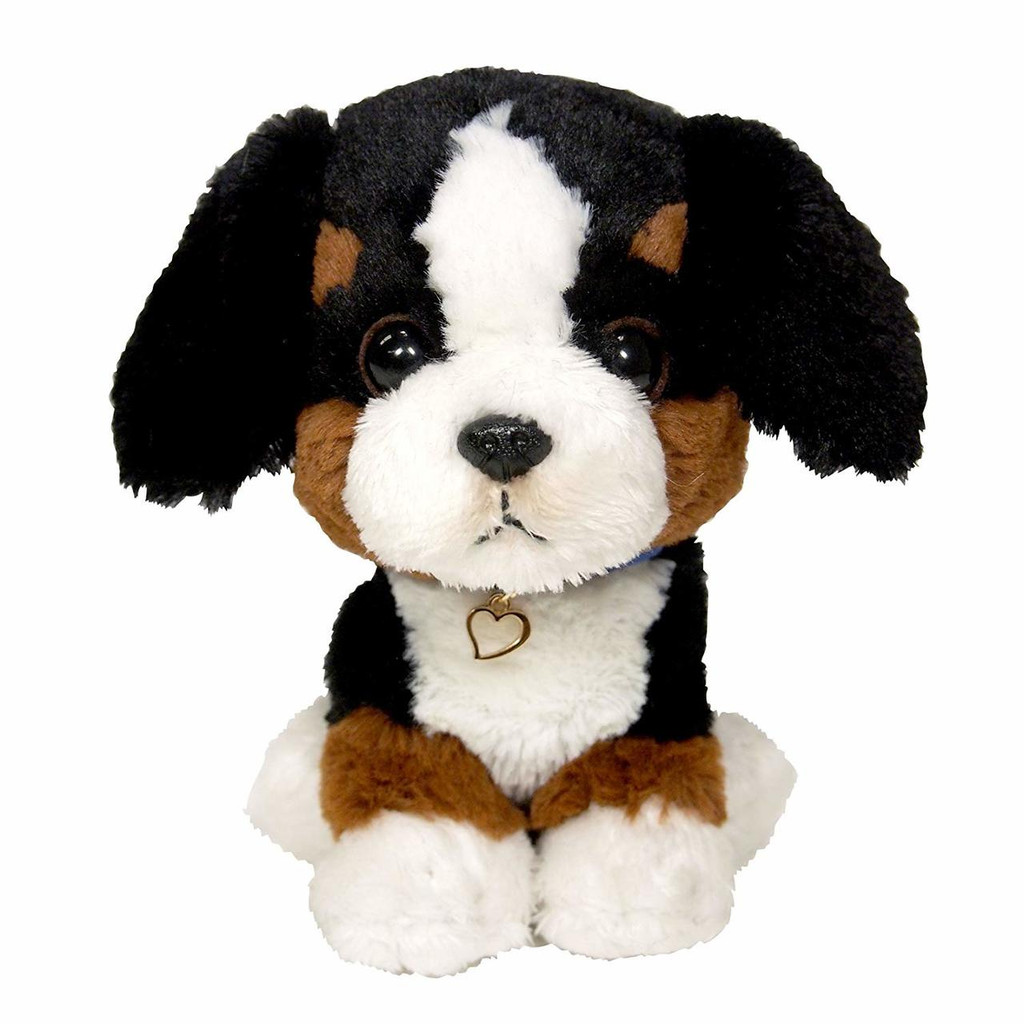 Sun Lemon Plush Doll Paps! Animal Dog Puppy Bernese Mountain Dog Small TJN