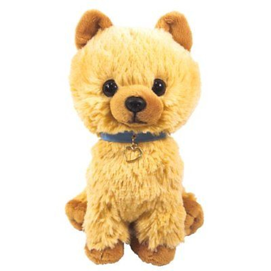 Sun Lemon Plush Doll Paps! Stuffed Toy Plush Puppy Pomeranian Medium TJN