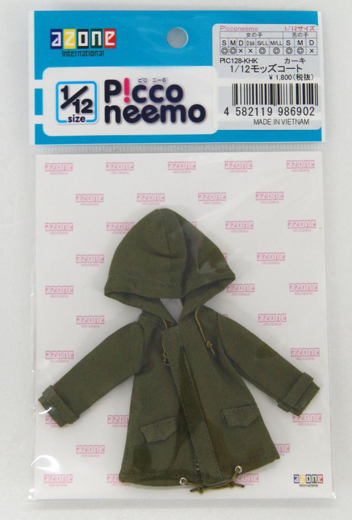 Azone PIC128-KHK 1/12 Piconeemo Mods Coat Khaki
