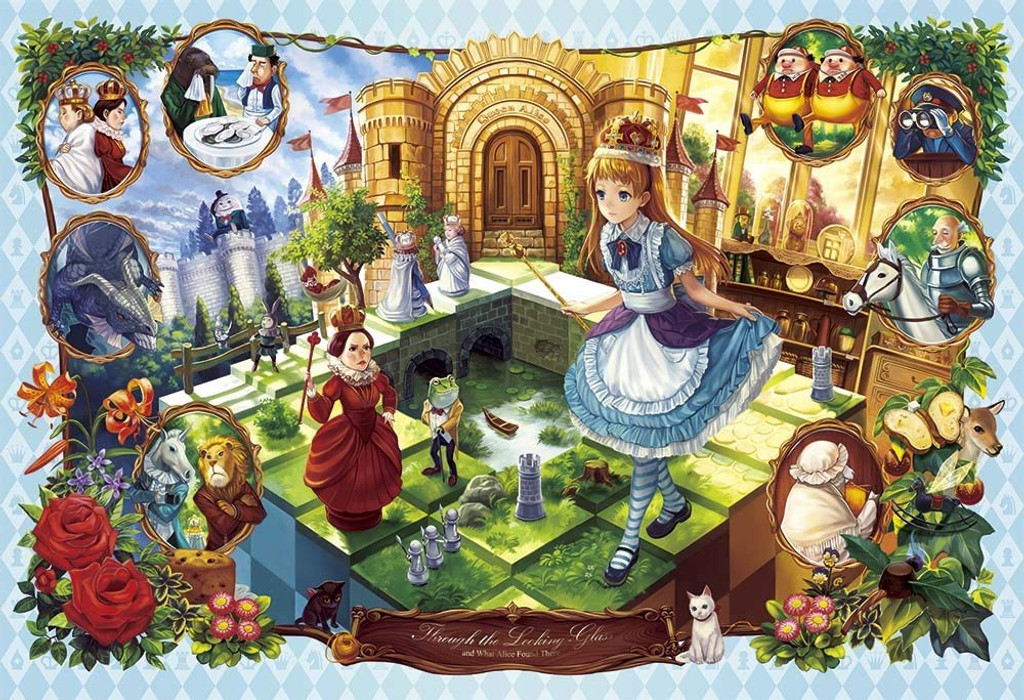 Apollo-sha Jigsaw Puzzle 48-742 Through the Looking-Glass Alice (300 Pieces)