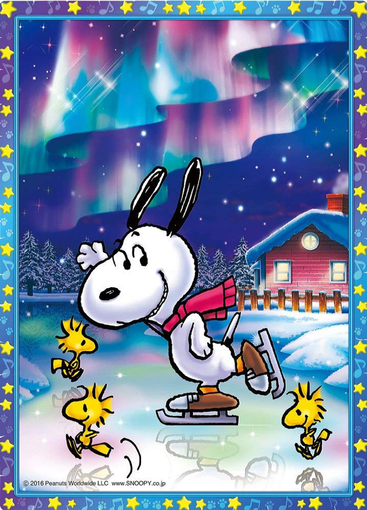 Beverly Crystal Jigsaw Puzzle CJP-045 Peanuts Snoopy Aurora (165 Pieces)