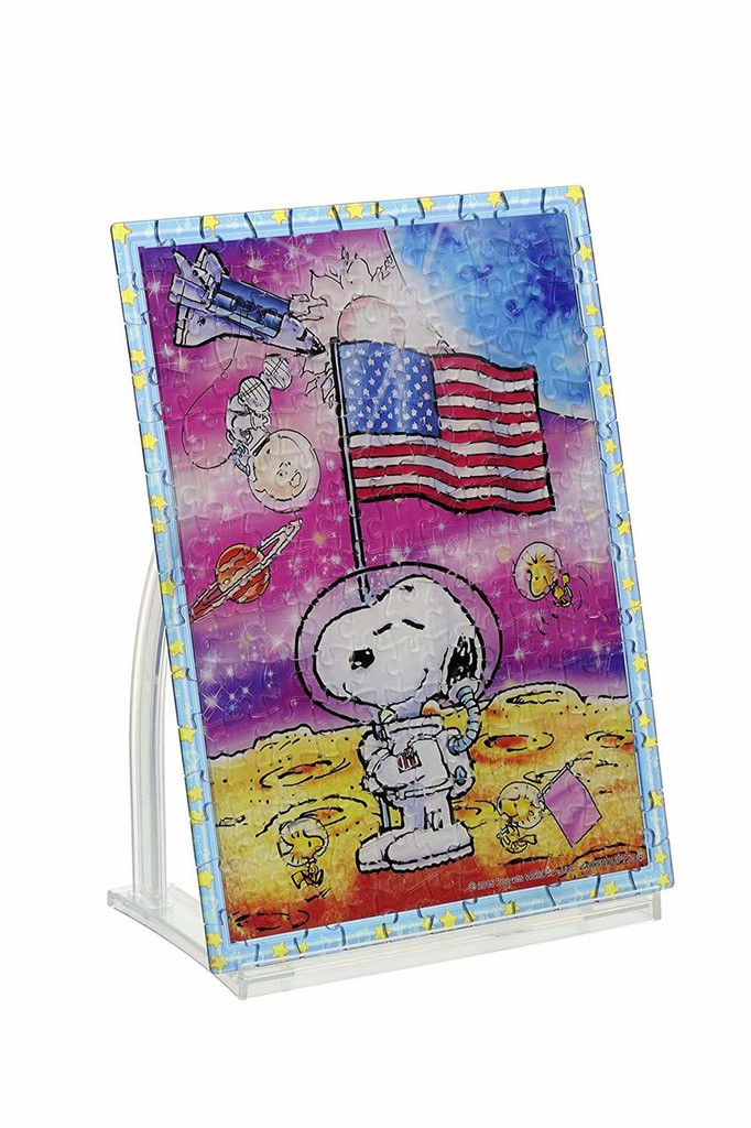 Beverly Crystal Jigsaw Puzzle CJP-037 Peanuts Snoopy  Moon Landing (165 Pieces)