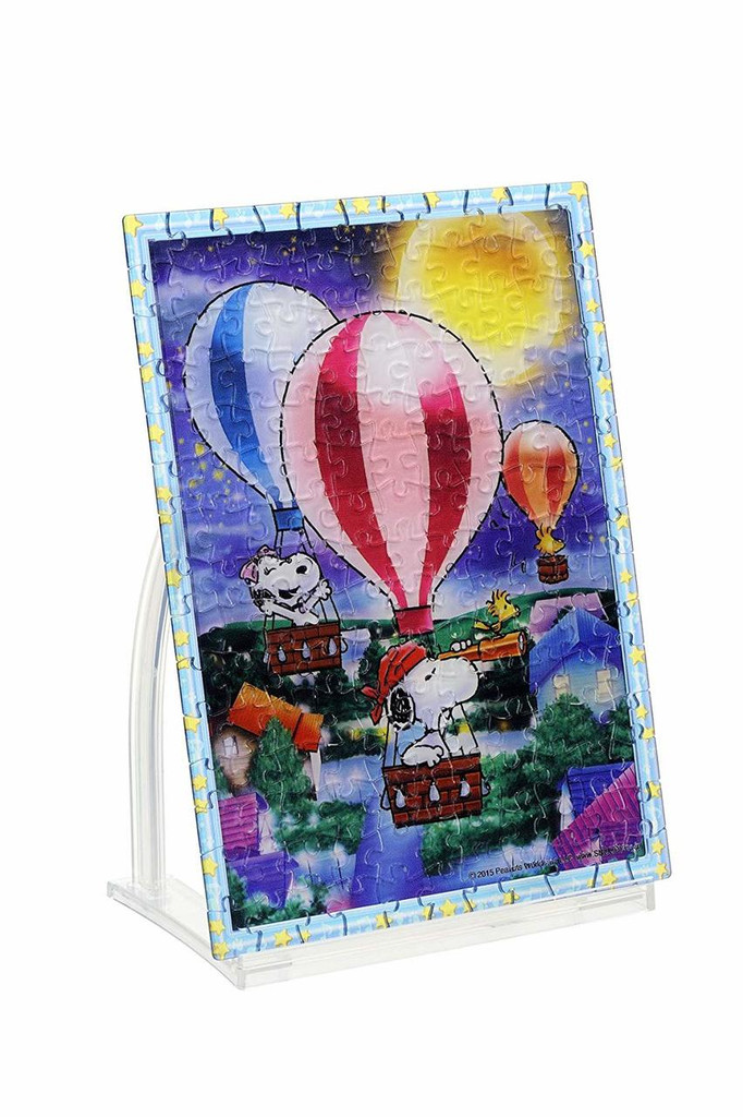 Beverly Crystal Jigsaw Puzzle CJP-035 Peanuts Snoopy Starry Sky Adventure (165 Pieces)