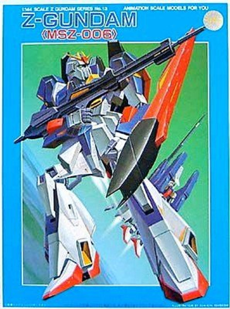 Bandai 044897 MSZ-006 Z-Gundam 1/144 Scale Kit