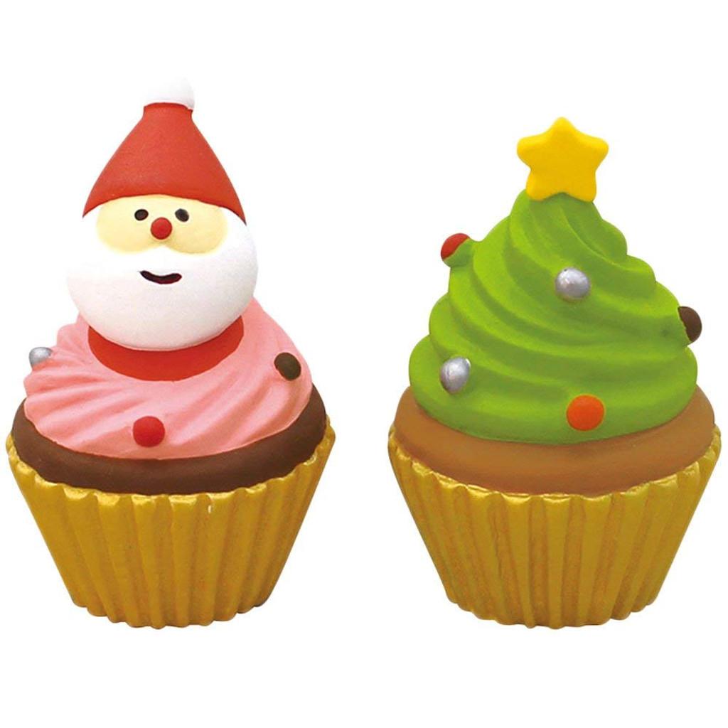 DECOLE concombre Mini Christmas Cake (Pink Green 2 Set)