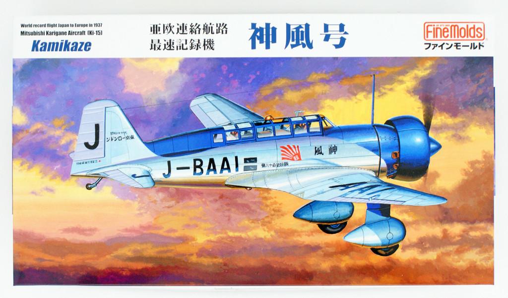 Fine Molds FB26 Mitsubishi Airspeed Record Aircraft Ki-15 Kamikaze 1/48 Scale kit