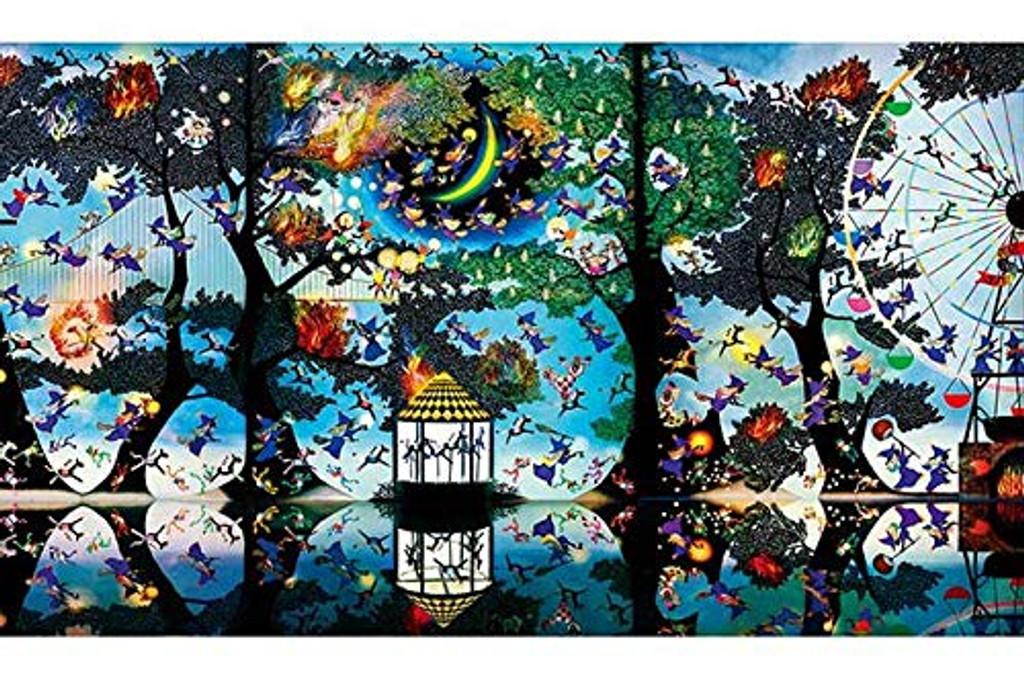 APPLEONE Jigsaw Puzzle 1000-831 Seiji Fujishiro Magical Forest (1000 Pieces)