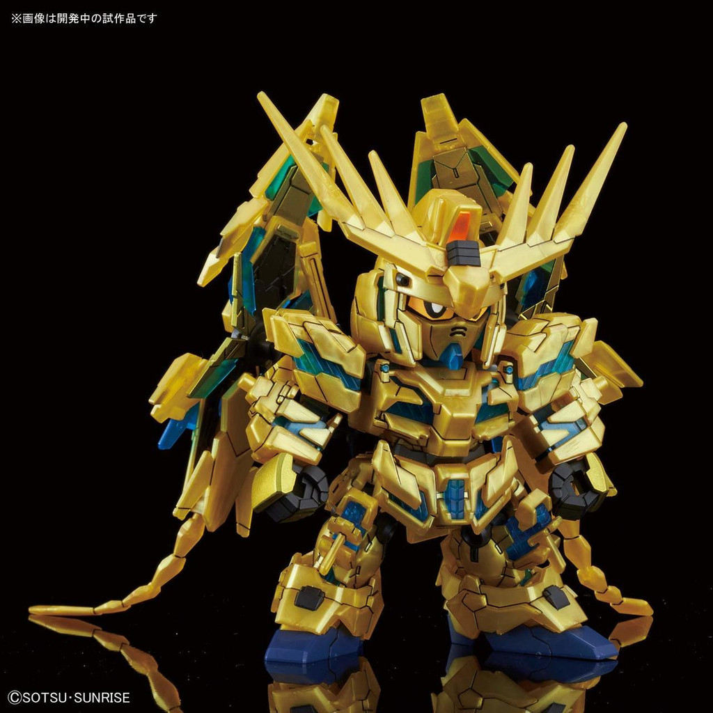 Bandai SD Cross Silhouette Unicorn Gundam 03 Phenex (Narrative) Non-Scale Model