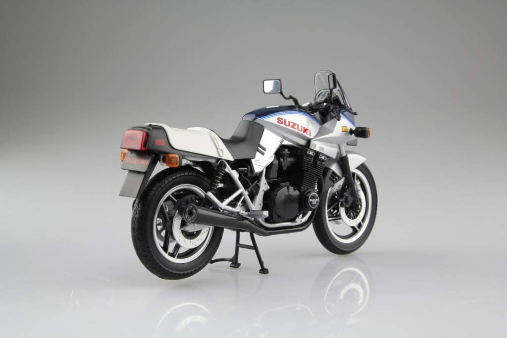 Aoshima Skynet 05245 Suzuki GSX1100S KATANA SD Blue / Silver 1/12 Scale Finished Model