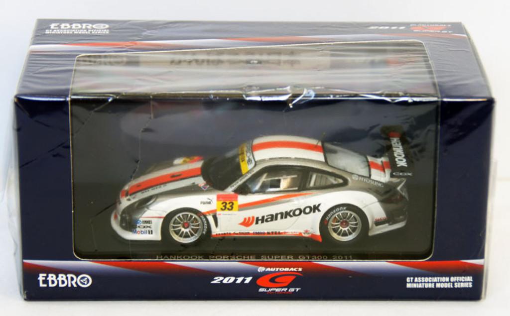 Ebbro 44540 Super GT300 Hankook Porsche 1/43 Scale