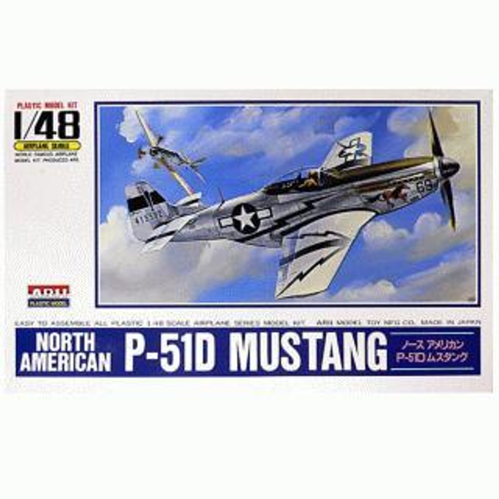 Arii 304105 North American P-51D MUSTANG 1/48 Scale Kit (Microace)
