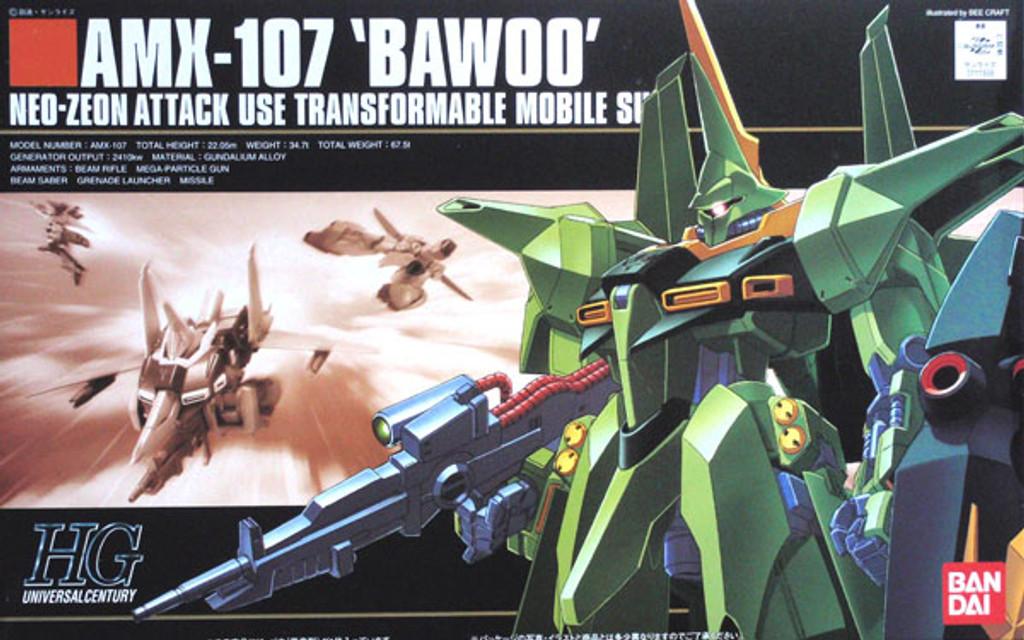 Bandai HGUC 031 Gundam AMX-107 BAWOO 1/144 Scale Kit