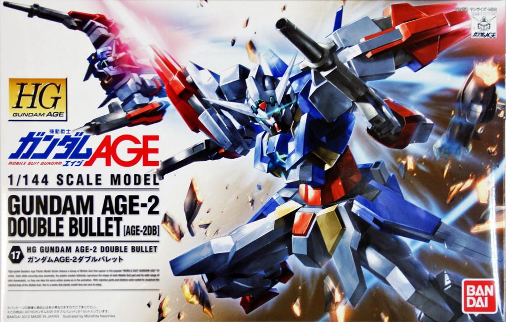 Bandai Gundam HG AGE-17 AGE-2 DOUBLE BULLET 1/144 Scale Kit