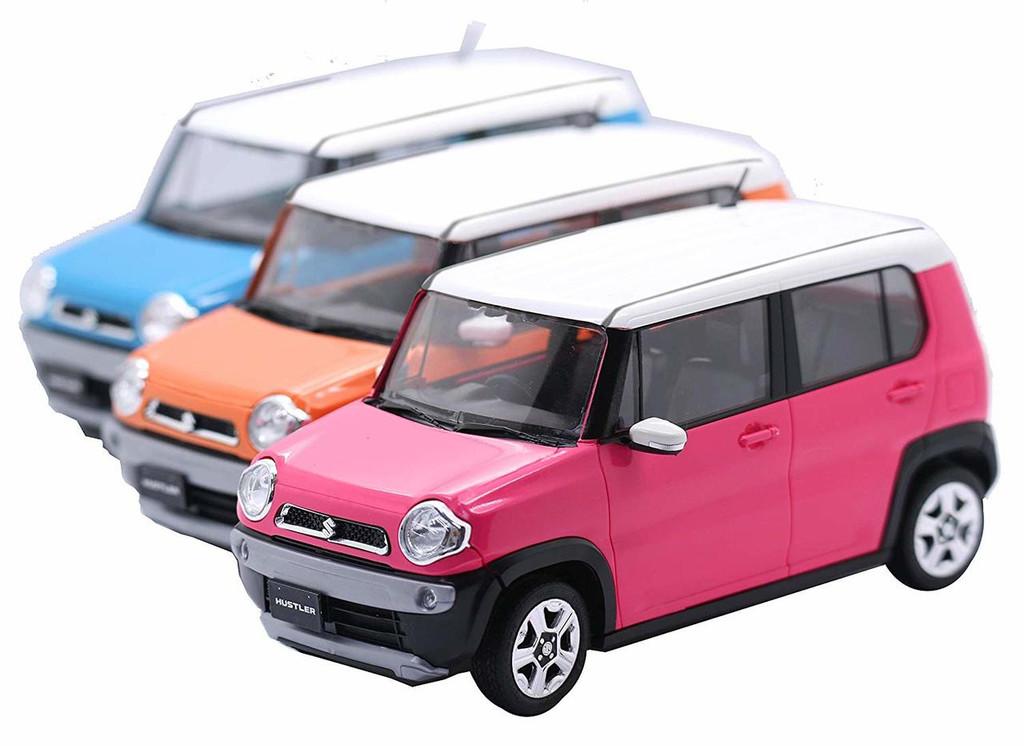 Fujimi 066158 Suzuki Hustler (Candy Pink Metallic) 1/24 Pre-painted Kit