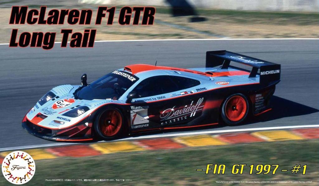 Fujimi RS95EX-1 McLaren F1 GTR Long Tail 1997 FIA GT Championship #1 DX 1/24 Scale kit