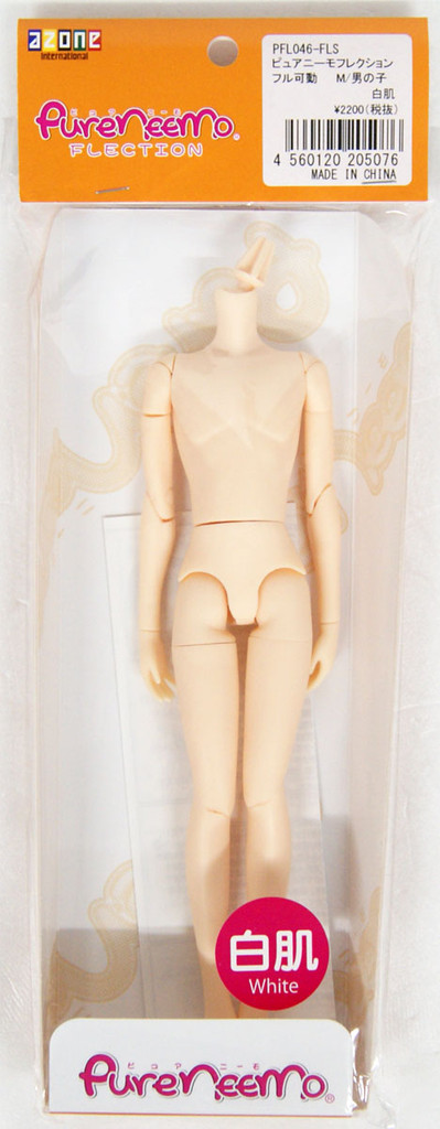Azone PFL046-FLS Pure Neemo Flection Full Action M Boy White Skin