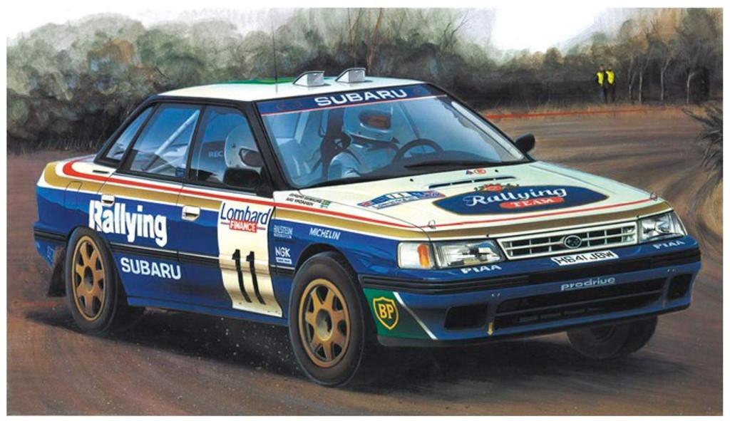 Hasegawa 20390 Subaru Legacy RS 1991 RAC Rally 1/24 scale kit