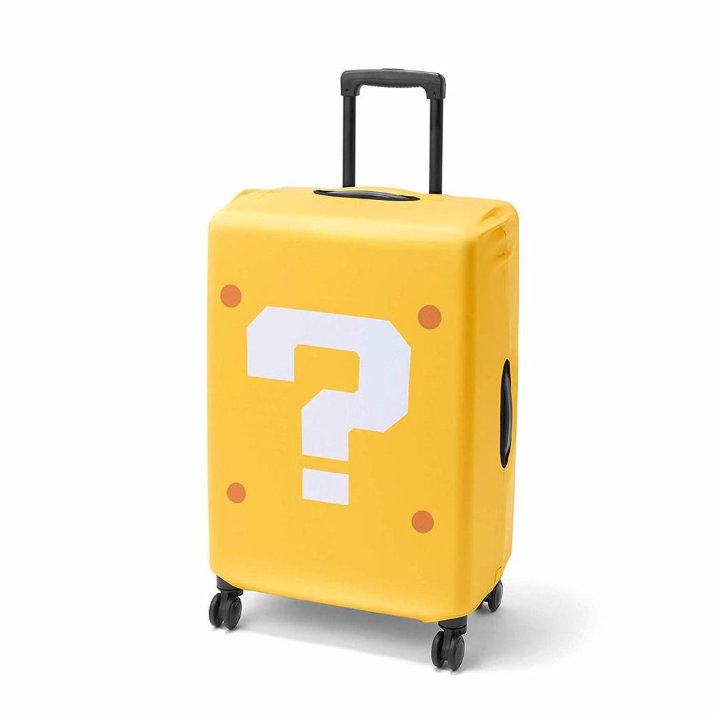 Nintendo Super Mario Travel Luggage Cover (Question Block)