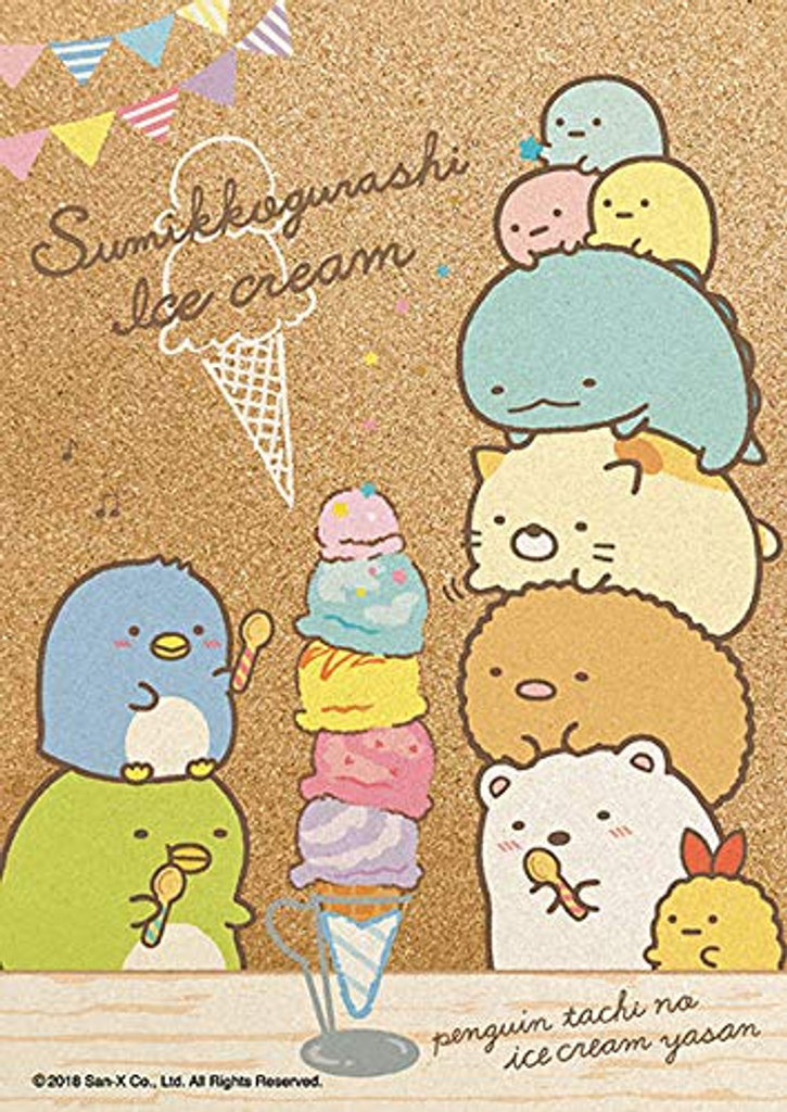 Beverly Jigsaw Puzzle 108-827 Cork Jigsaw Puzzle Sumikko Gurashi Ice Cream (108 Pieces)