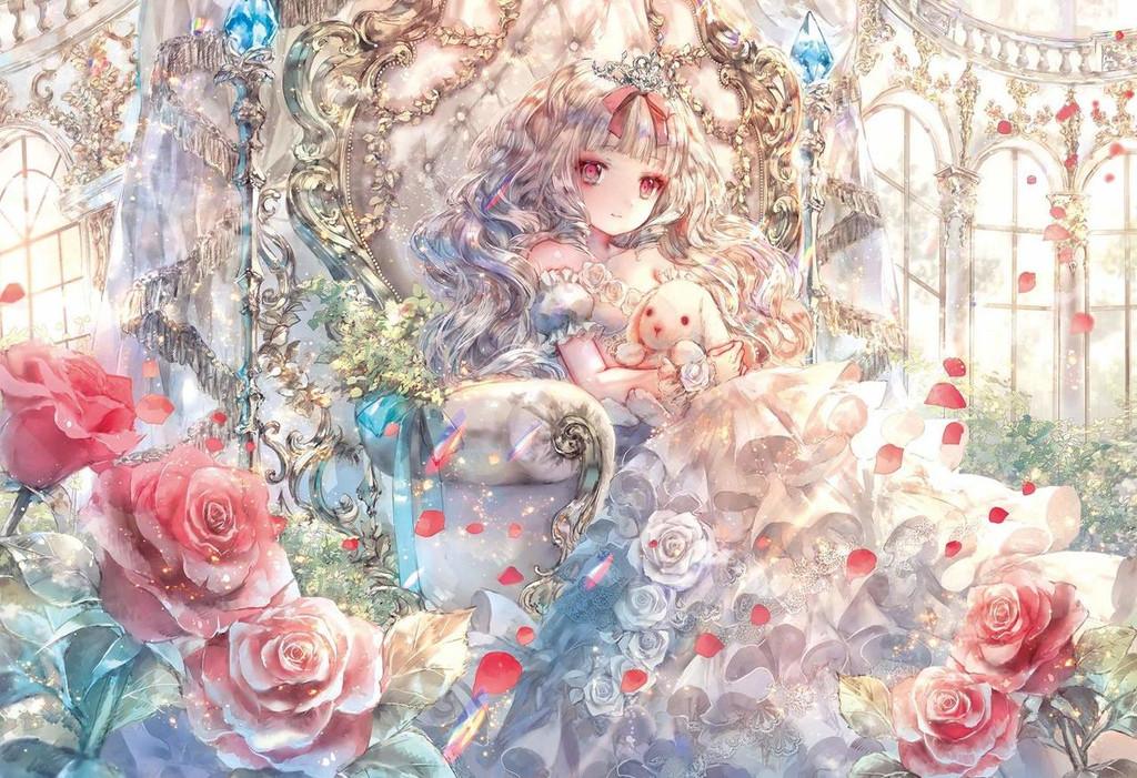 Epoch Jigsaw Puzzle 26-307 Onineko White Princess Story (300 Pieces)