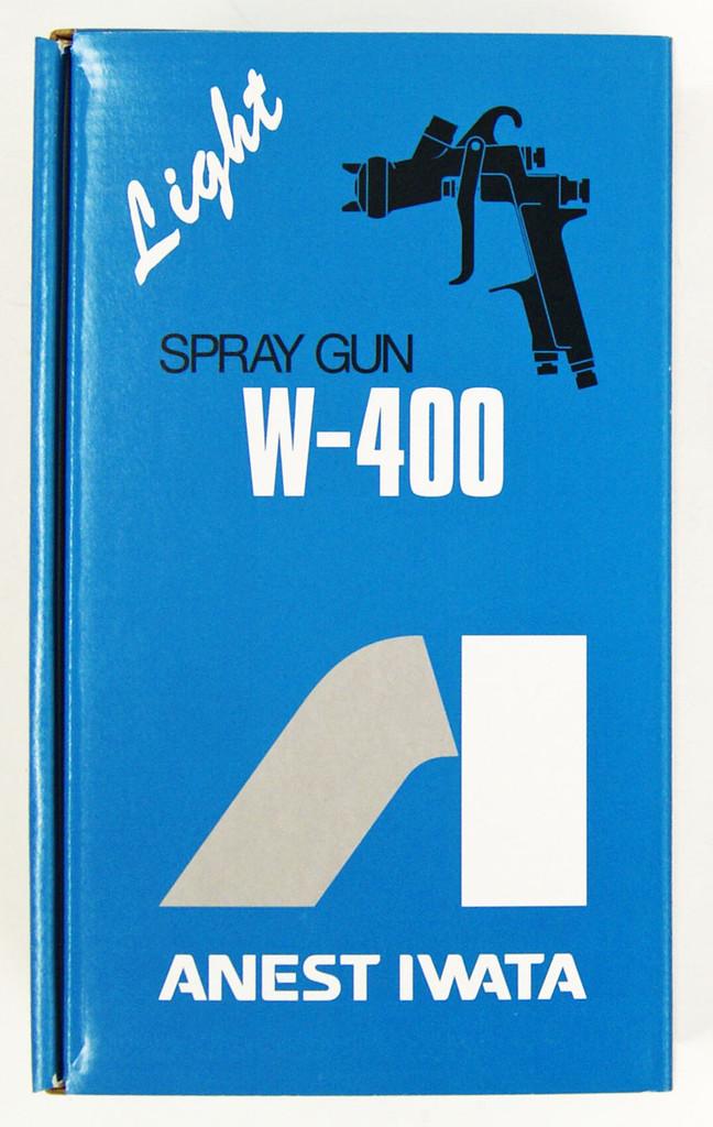 Anest Iwata W-400-122G Gravity Spray Gun 1.2mm (Cup sold Separately)