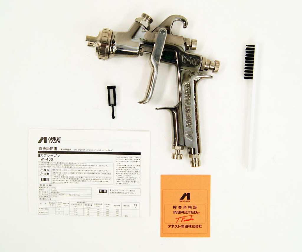 Anest Iwata W-400-122G Gravity Spray Gun 1.2mm (Cup sold Separately)