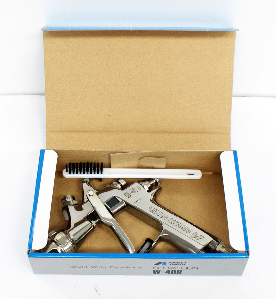 Anest Iwata W-400-164G Center Cup Gravity Spray Gun 1.6mm (Cup sold Separately)
