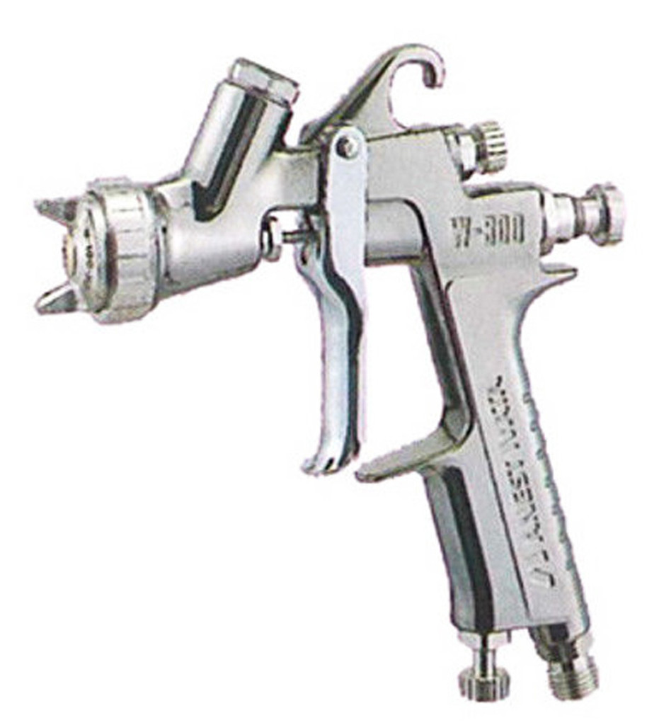 Anest Iwata W-300-081G Center Gravity Portable Spray Gun 0.8mm (without Cup)