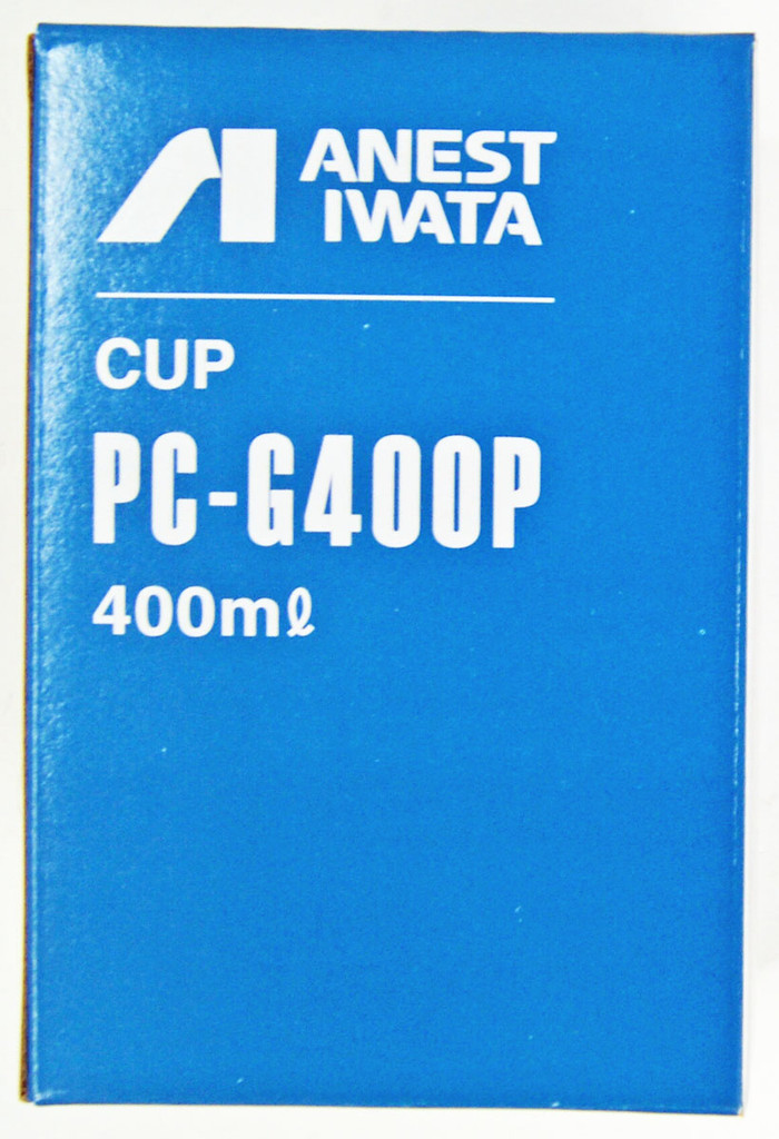 Anest Iwata PC-G400P-2 Plastic Gravity Cup 400ml for LPH-300, W-300, W-300WB