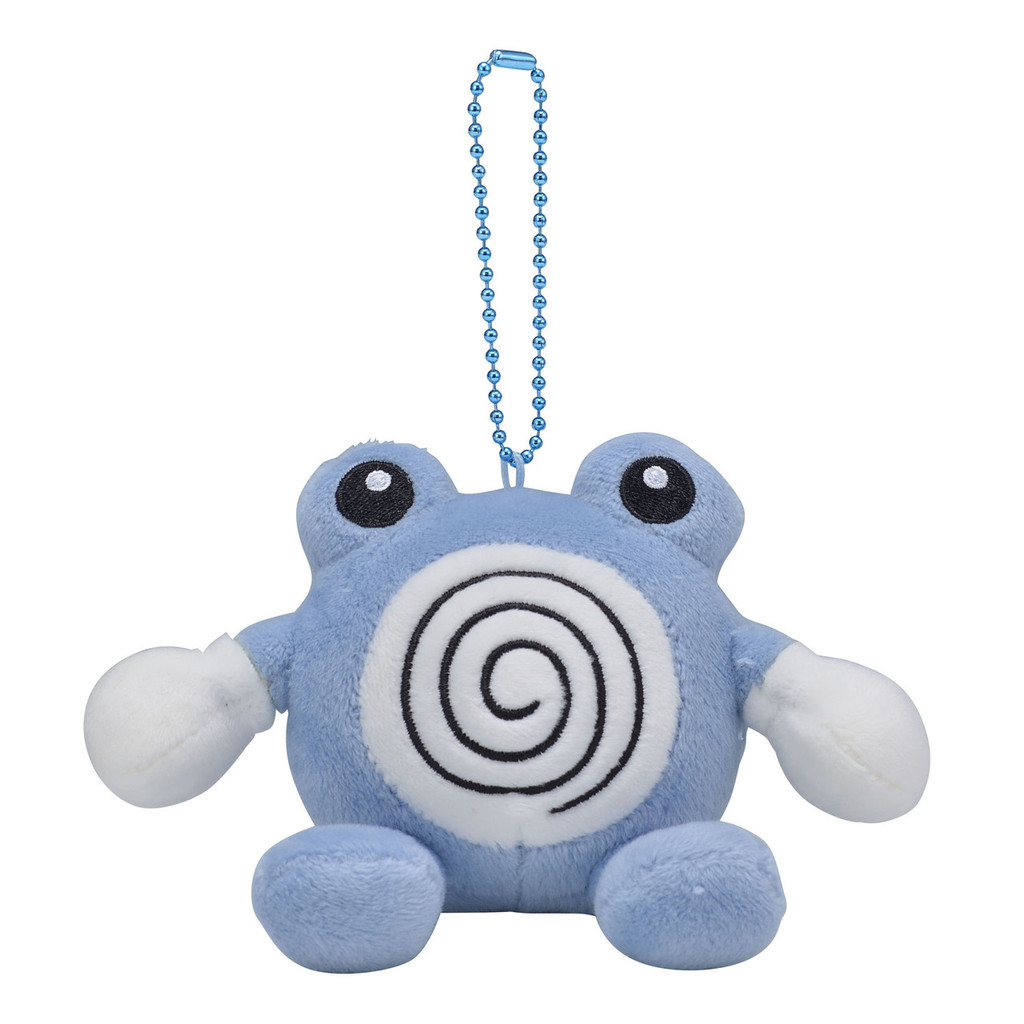 Pokemon Center Original Mocchiri Mascot Pokemon Dolls Poliwhirl (Nyorozo) 0101
