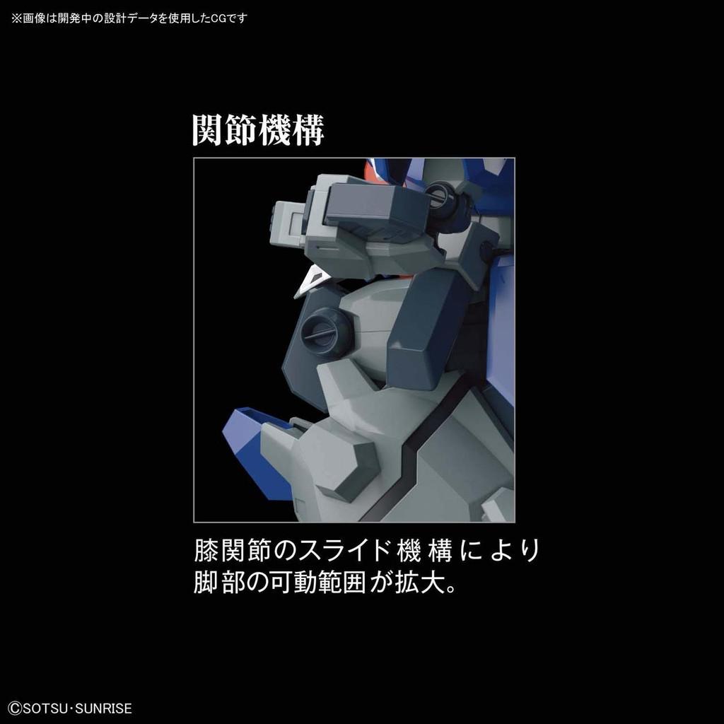 Bandai HGUC 221 GUNDAM Gustav Karl (Unicorn Ver.) 1/144 Scale Kit