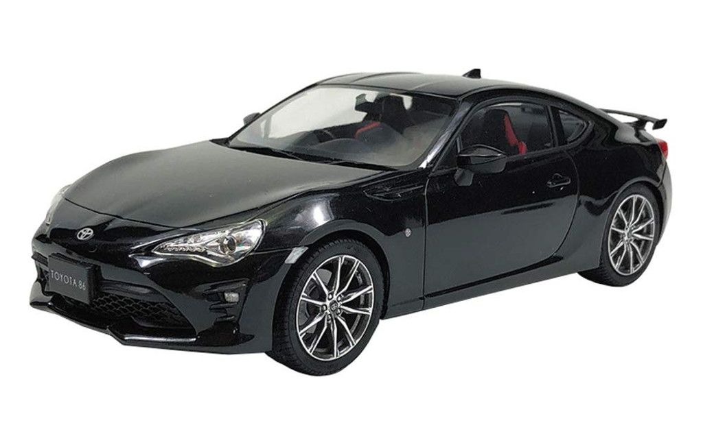 Aoshima 56486 Toyota ZN6 Toyota86 2016 Crystal Black Silica 1/24 Scale Kit (Pre-painted Model)